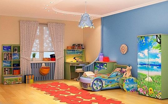 Развитию воображения и творческих способностей ребенка такие комнаты не способствуют.